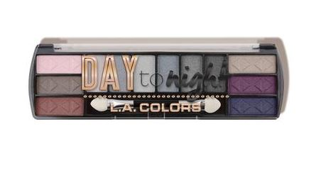 L.A. Colors Day to Night (12 Color Eyeshadow) Evening