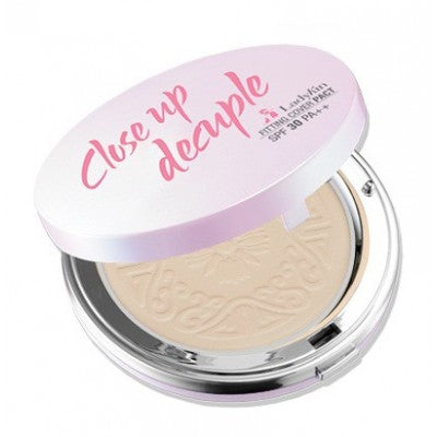 Ladykin Close Up Decuple Fitting Cover Pact SPF30 No. 23 Natural Beige