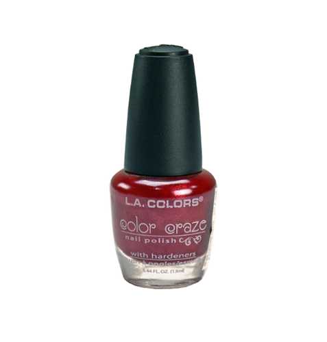 L.A. Colors Color Craze Nail Polish Cayenne Pepper