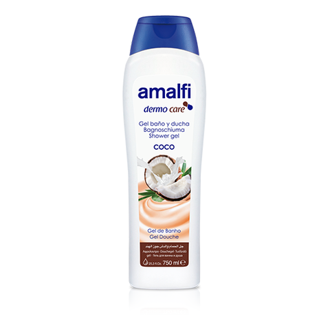 Amalfi Bath and Shower Gel Coconut Milk 750 ml