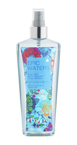 Hype Moisturizing Body Mist 236ml - Epic Waters