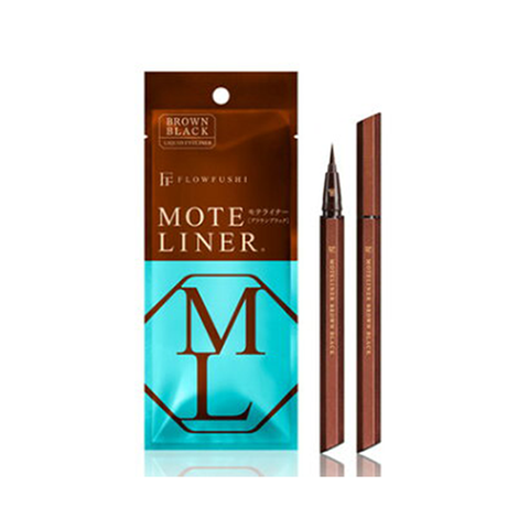 Flowfushi Moteliner Brown Liquid Eyeliner