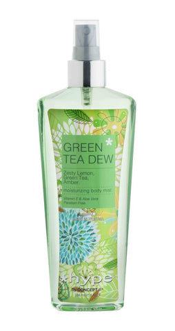 Hype Moisturizing Body Mist 236ml - Green Tea Dew