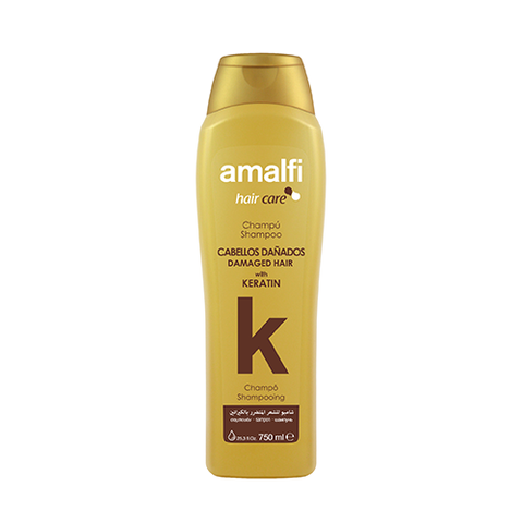 Amalfi Shampoo Keratin Damaged Hair Argan 750 ml