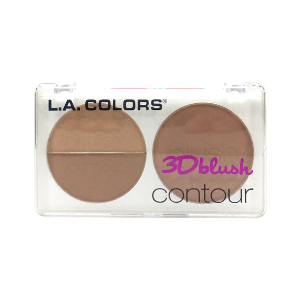 L.A. Colors 3D Blush Contour Crush