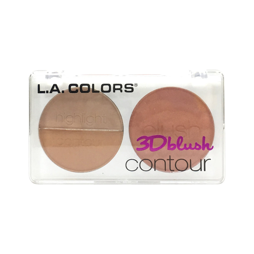 L.A. Colors 3D Blush Contour Honey Bun