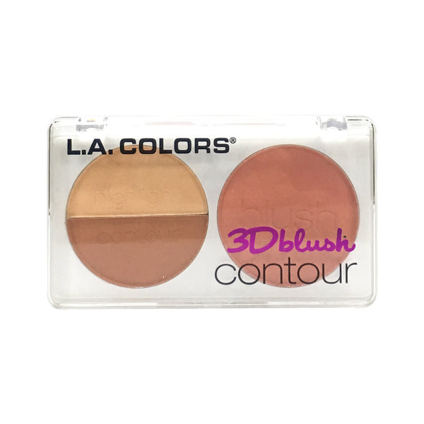 L.A. Colors 3D Blush Contour Sugar Plum