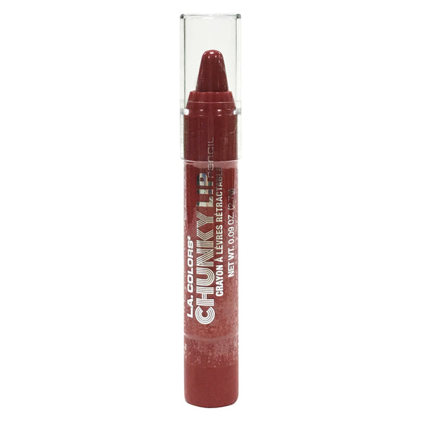 L.A. Colors Chunky Lip Pencil Deep Red