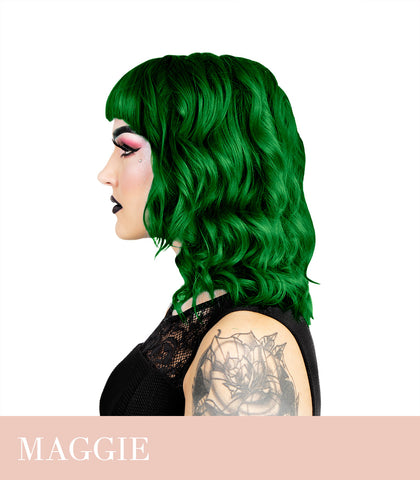 Herman`s Amazing UV Maggie Dark Green