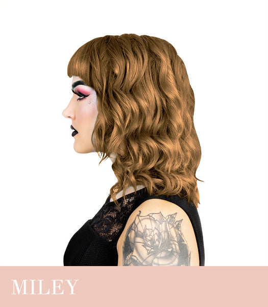 Herman`s Amazing Miley Milk Tea Brown