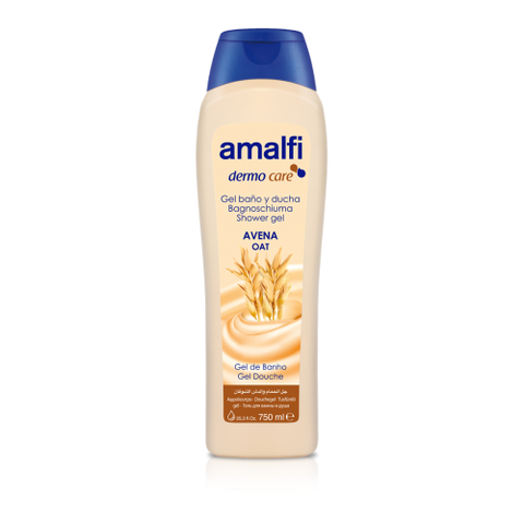 Amalfi Bath and Shower Gel Oat 750 ml