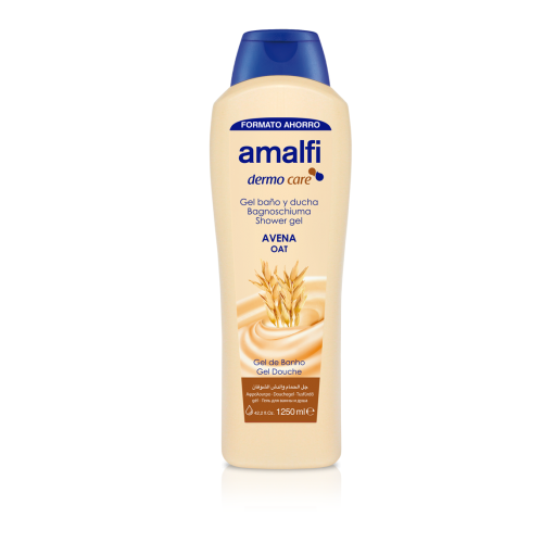 Amalfi Bath and Shower Gel Oat 1250 ml