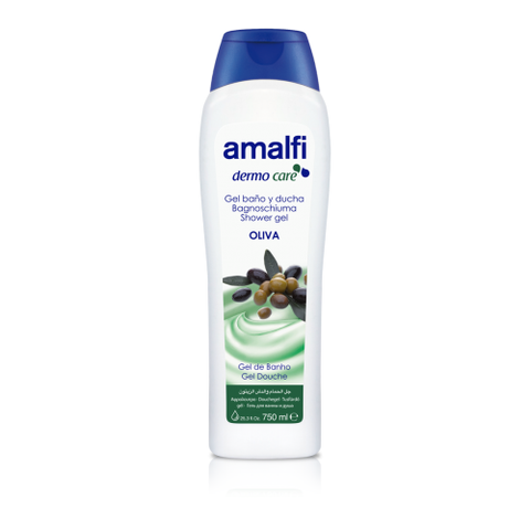 Amalfi Bath and Shower Gel Olive 750 ml