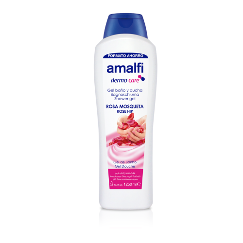 Amalfi Bath and Shower Gel Wild Rose 1250 ml