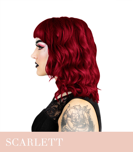 Herman`s Amazing Scarlett Rouge Red