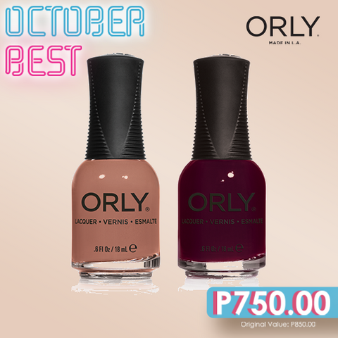 Orly October Best Naughty + Coffee Break