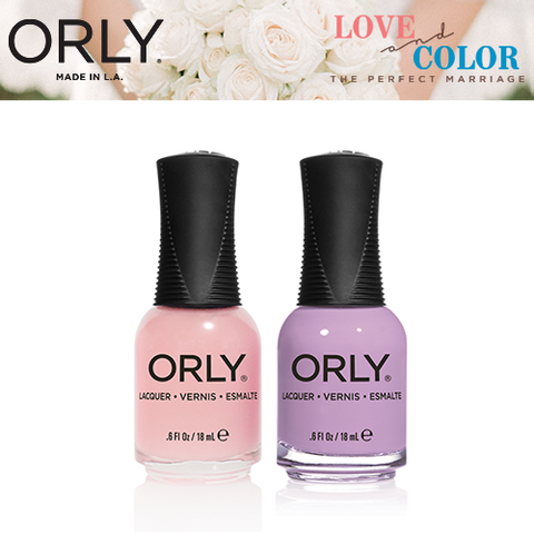 Orly Love and Color - Cool in California + Lollipop