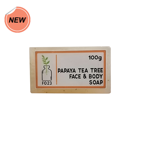 Formula Organic 23 Papaya Tea Tree Soap 100g