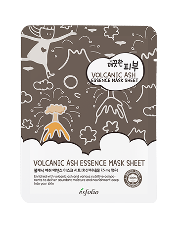 Esfolio Pure Skin Volcanic Ash Essence Mask Sheet 25ml