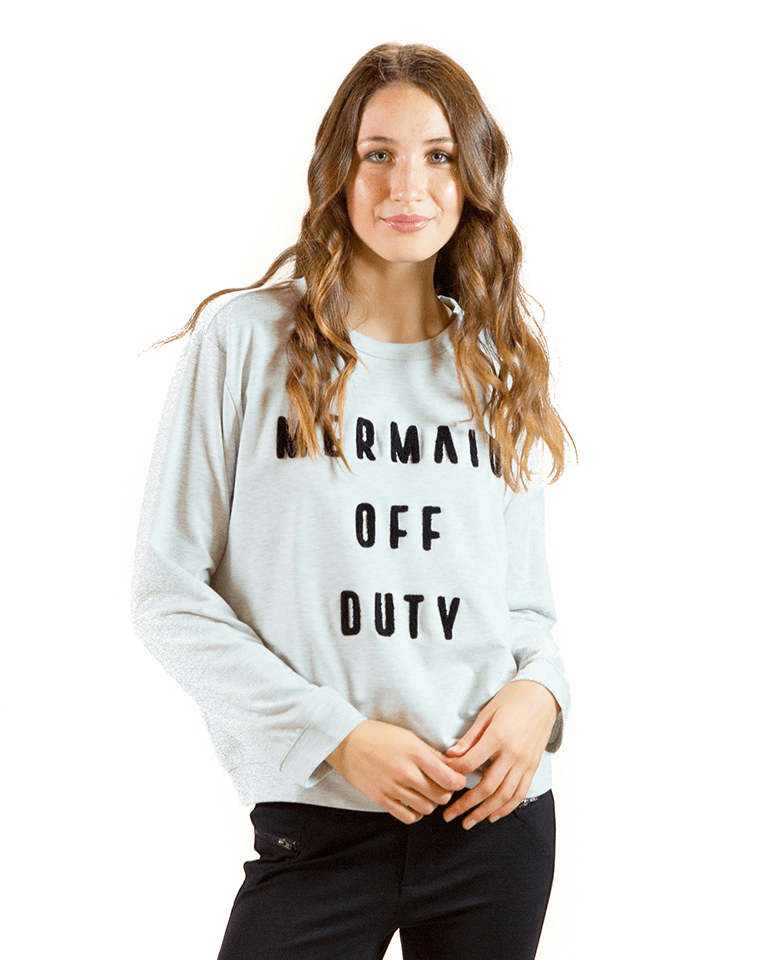 Mermaid Off Duty Sweatshirt