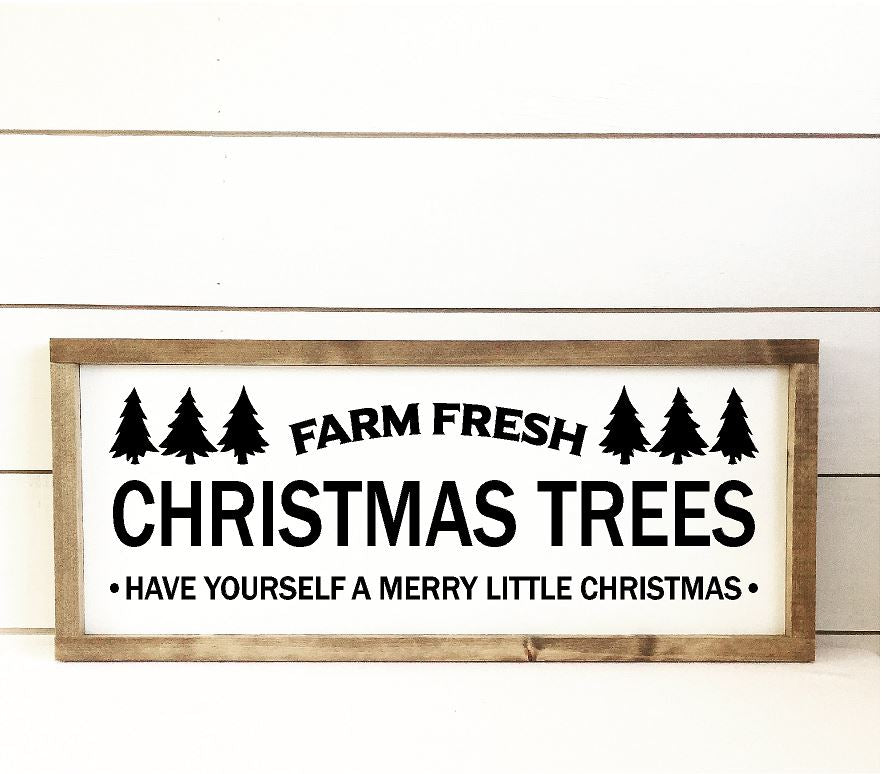 Christmas Tree Sign