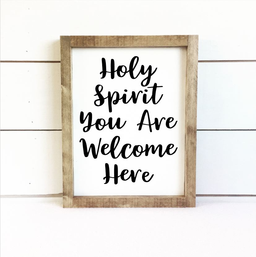 Holy Spirit Sign