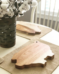 Farmhouse Pig Serving Board