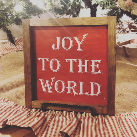 Joy To The World - Red