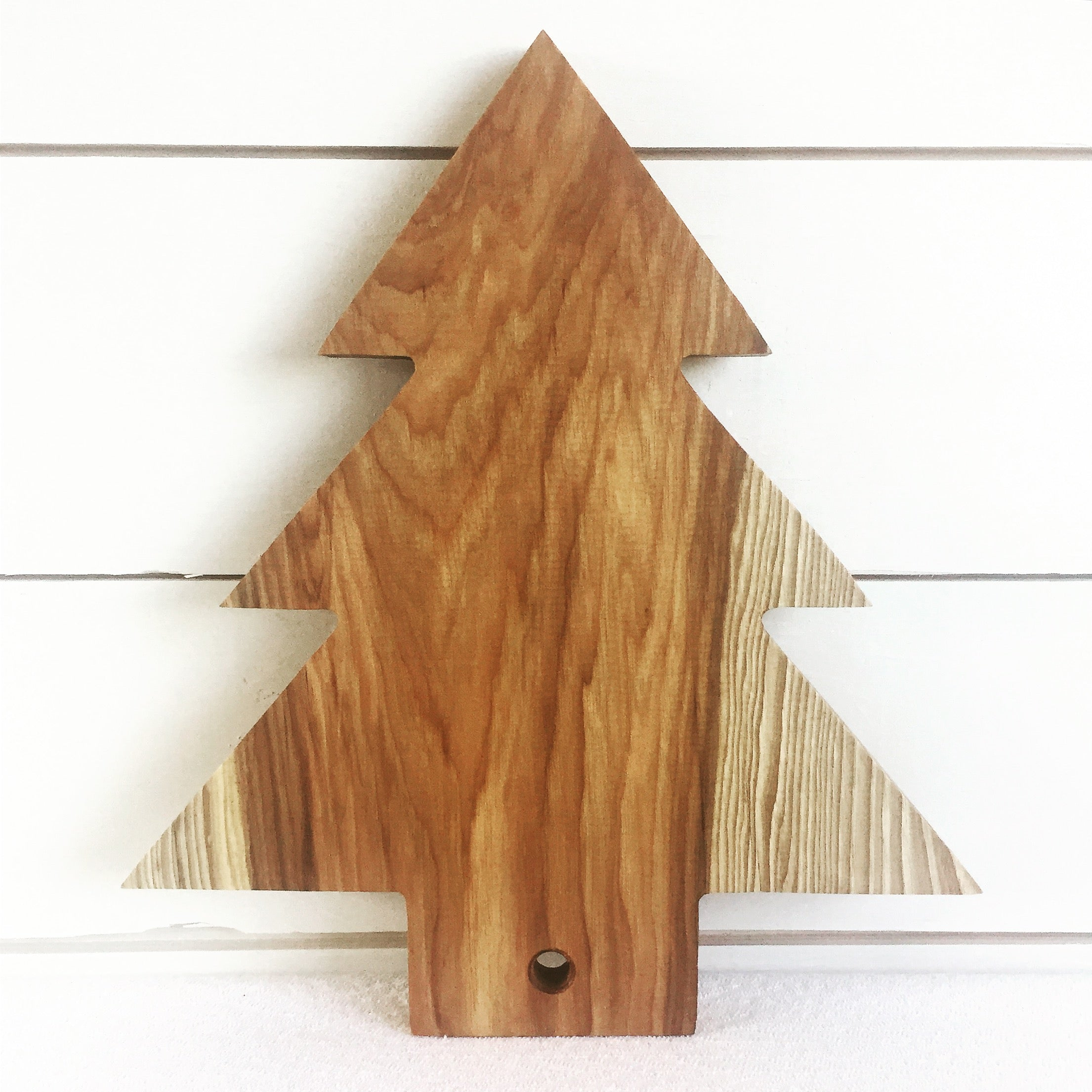 Christmas Tree Serving Board