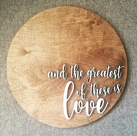 And The Greatest Of These Is Love - 3D
