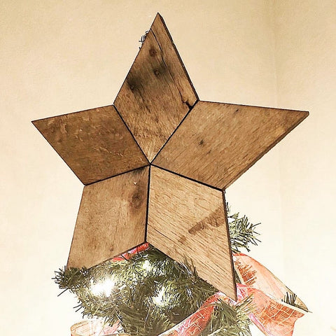 Star Christmas Tree Topper