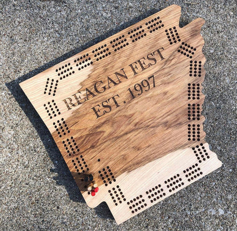State Cribbage Board