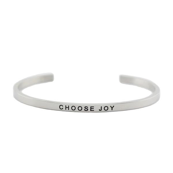 Choose Joy Inspirational Bracelet