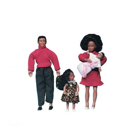 Modern African American Family Dolls