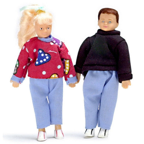 Teen Boy and Girl Dolls