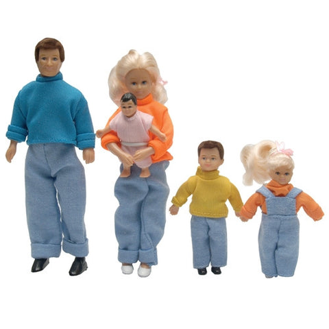 Doll Family with Extra Clothing ON SALE!