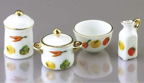 Vegetable Themed Pot Set by Reutter