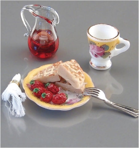Reutter Porcelain Waffles and Berries
