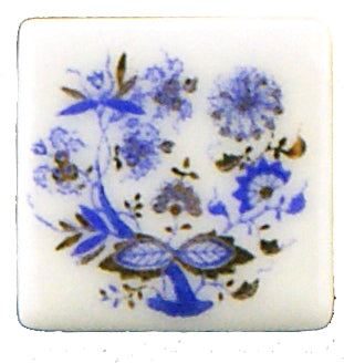 Blue Onion Tile, Set of 12