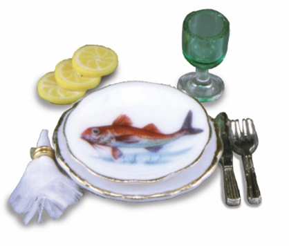 Fish Themed Place Setting