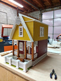 Little Ann Victorian Cottage Dollhouse Kit