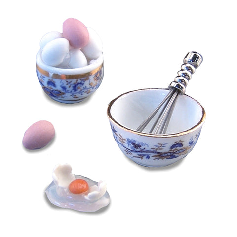Blue Onion Fresh Egg Set by Reutter