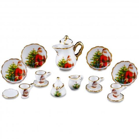 Christmas Coffee Set, 15 Piece