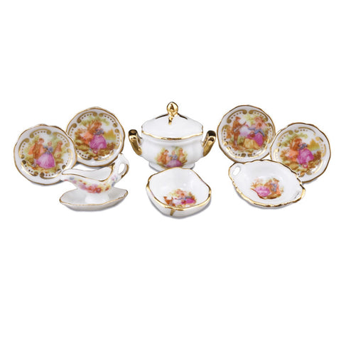 Baroque Dinner Set for 4
