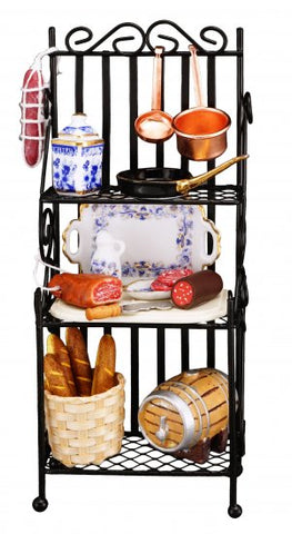 Kitchen Rack, Filled,  by Reutter Porcelain