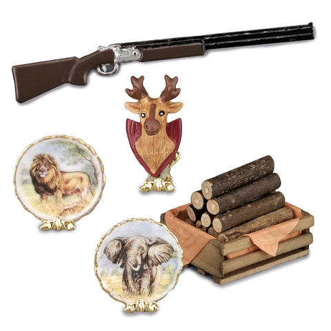 Hunter Fireplace Mantle Set