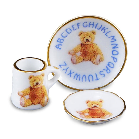 Reutter Nursery Teddy ABC China Set