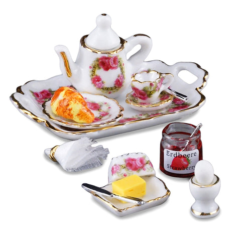 Deluxe Breakfast Tray Set