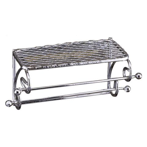Metal Bathroom Wall Shelf