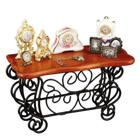 Wrought Iron Sideboard Display